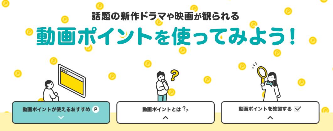 TSUTAYA TVのポイントサービス