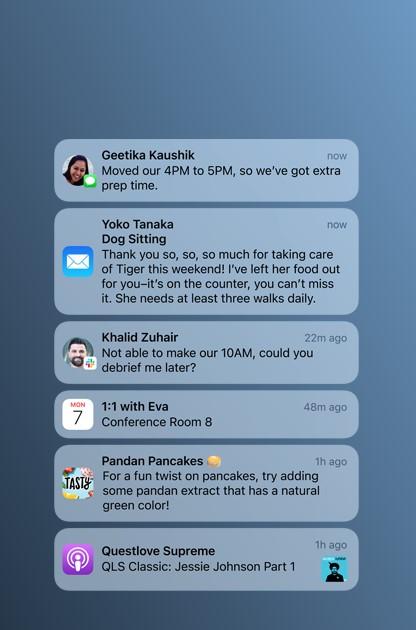 通知機能iOS15
