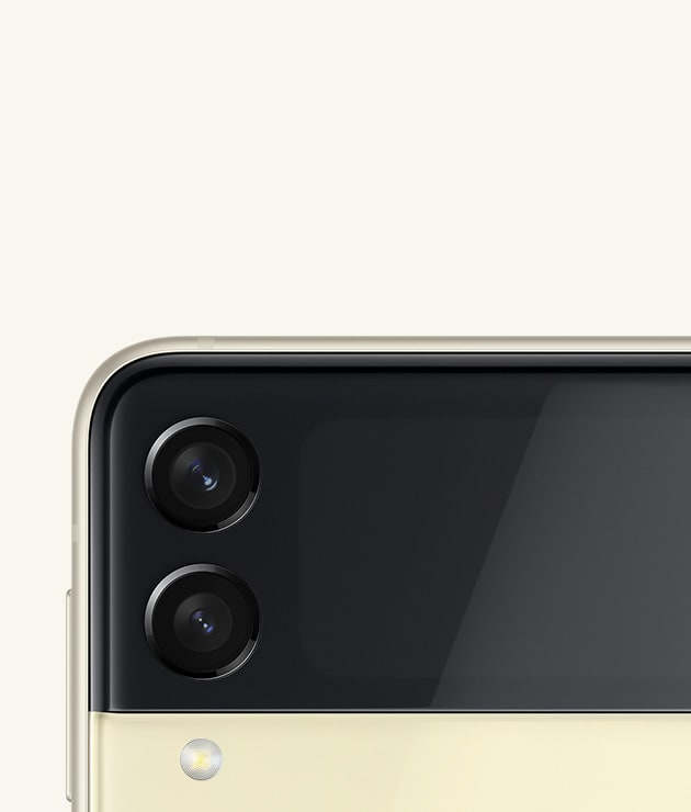 Galaxy Z Flip3 5G カメラ