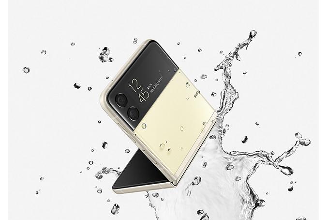Galaxy Z Flip3 5G 防水機能