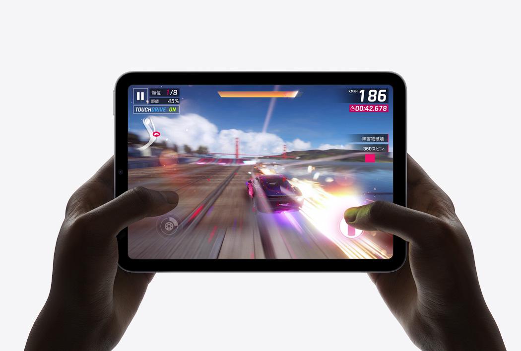 iPad mini(第6世代)でゲーム
