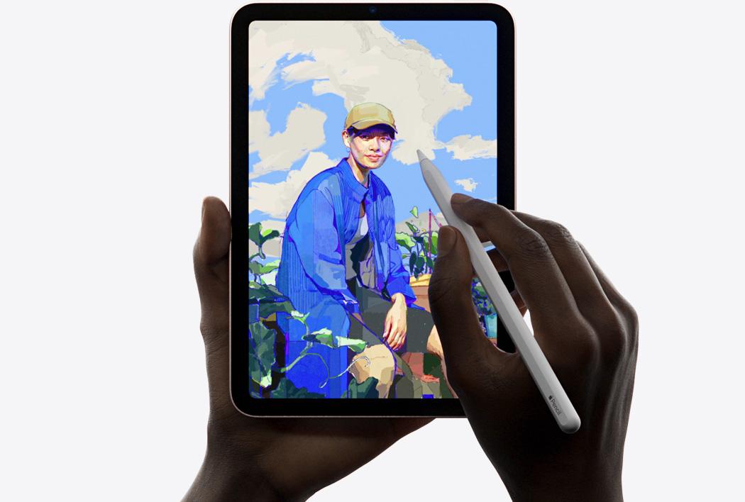 iPad mini(第6世代)で絵を描く