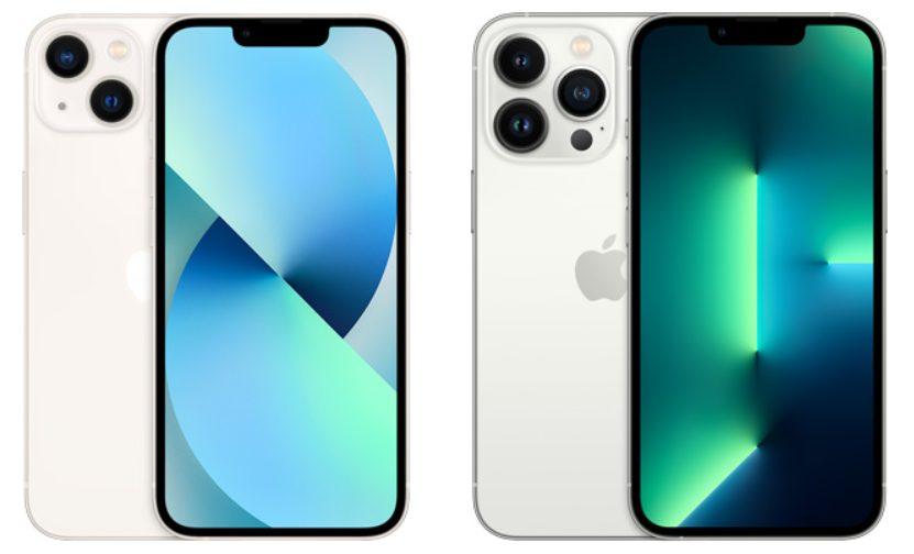 iPhone 13とiPhone 13 Pro