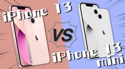 iPhone13とiPhone13 miniの比較