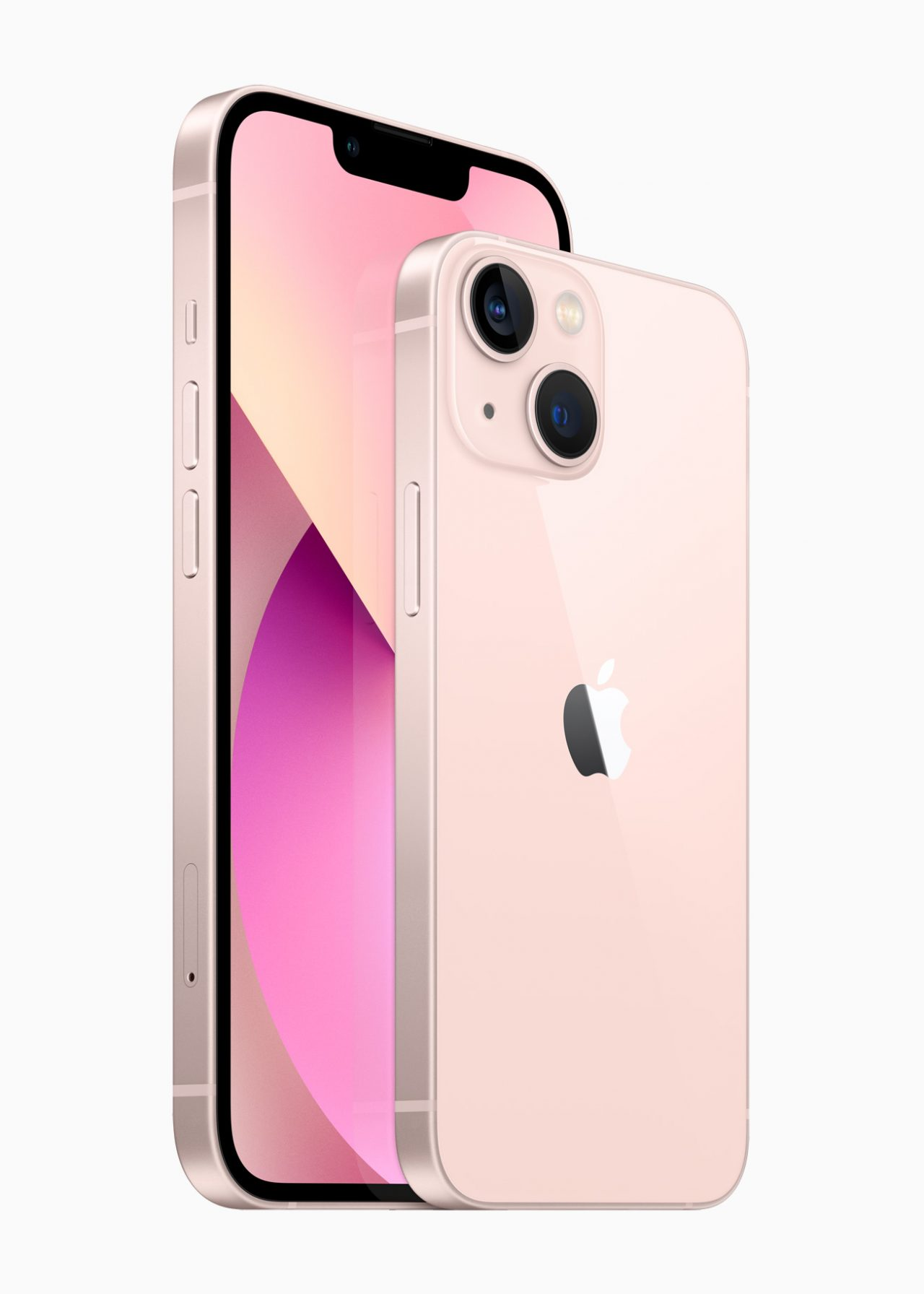iPhone 13のピンク