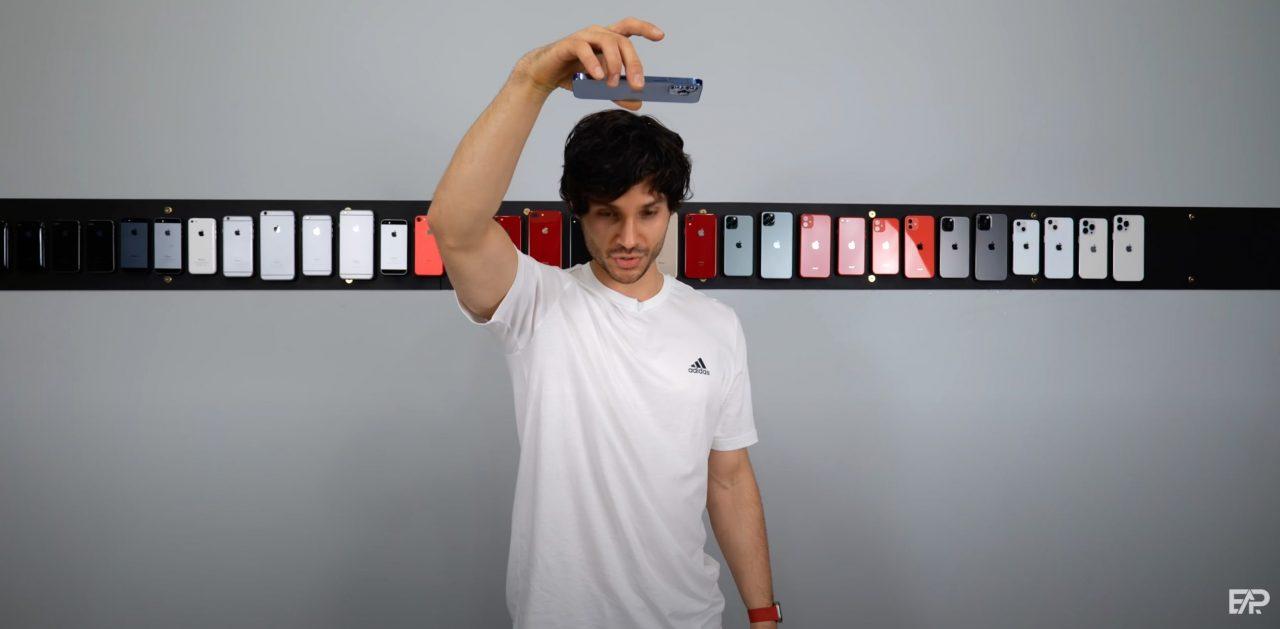 iPhone13 Proの落下テスト