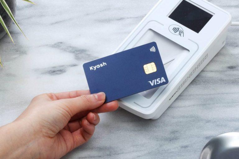 Kyashのプラスチックカード