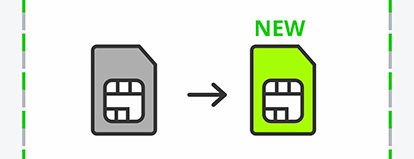 手順12:LINEMOのSIMカードが届いたら「商品発送のお知らせ」メールのURLから回線を切り替える