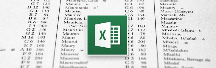 Excelで簡易データベースシステム作成
