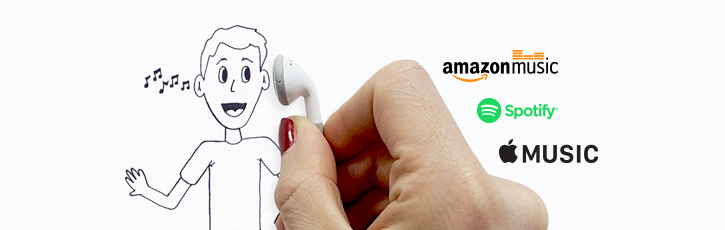 『Apple Music』から『Spotify』最終的に『Amazon Music』にたどり着いた理由