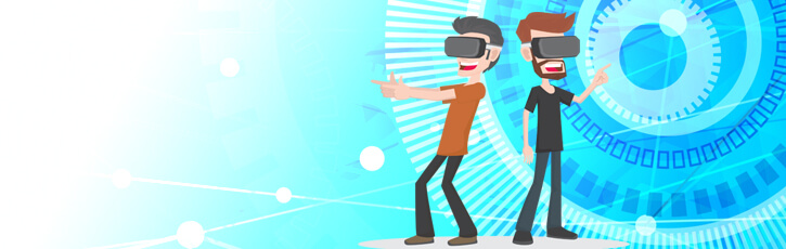 『VR・ARワールド』に私が来た!