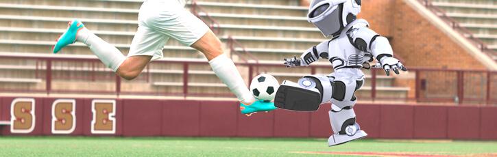 ロボカップサッカー 万国共通スポーツをロボットで
